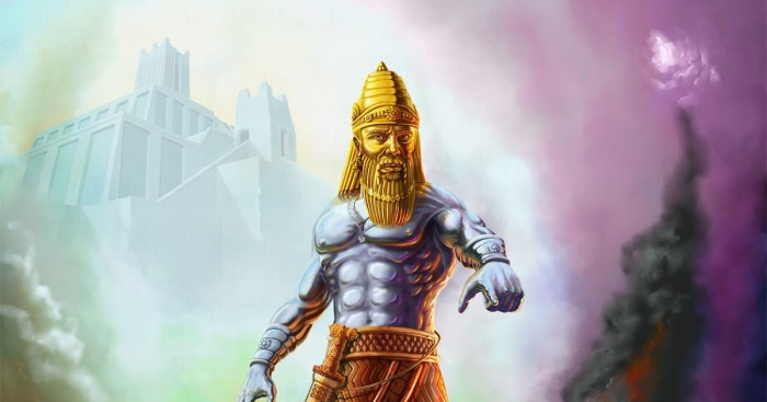 Statue-of-Nebuchadnezzar-Daniel-Chapter-2-Iron-and-Clay-Hyrbid-Nephilim-Kingdom